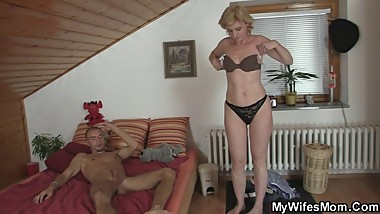 NOT mother in law finds him horny