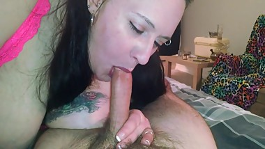 Afternoon Mom Blowjob