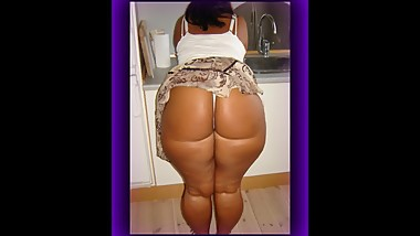 NICE THICK BUBBLE BUTT MOM