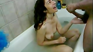 spy movie Mom sucking Cock in Bath