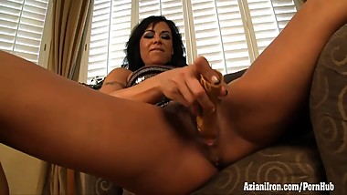 Aziani Iron squirting fitness MILF