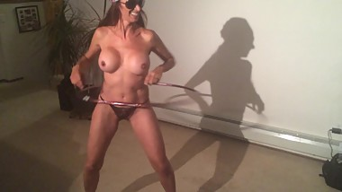 STONED SLUT WITH A HULA HOOP
