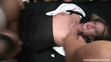 Irish from DATES25.COM - Gang bang time for married milf