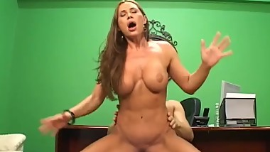 The Sexy MILF Boss Sky Taylor