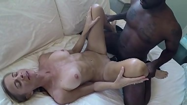 Blonde wife's first BBC
