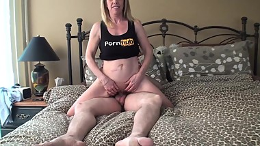 Pornhub Subscriber @specialagentmoody came by for a Fun Fan Fuck