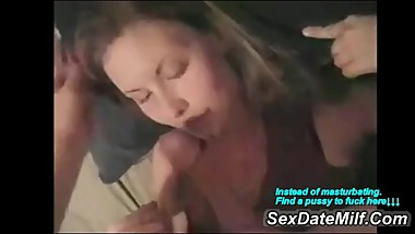 My Ex Wife Taking a Cum Sperm Load on Her Sweet Face