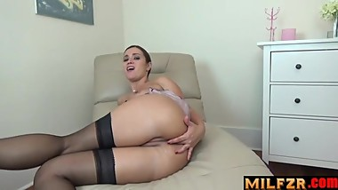 JOI Take mom's ASS,spray your load inside of it