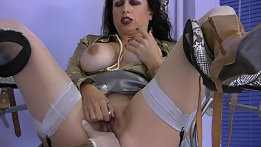 Treatment of sexy goddess Mistress Trinity
