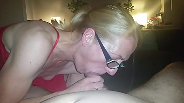 Sucking my dick