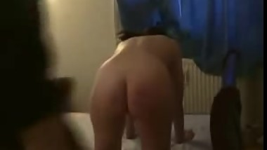 Spanked matura wife
