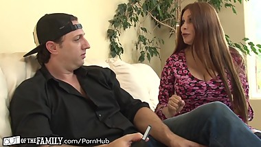 Nasty Mother-In-Law Gives him Her Asshole