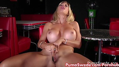 Euro Slut Puma Swede Fucks Big Dildo!