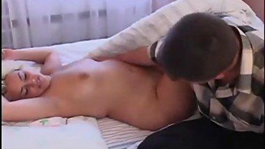 Russian mature Luna and young boy 7