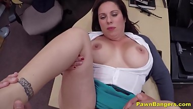 Tapped Out Wife Conforms To Suck & Fuck For Money Offer