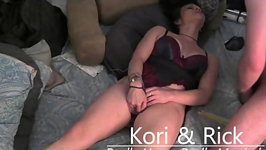 Kori making herself cum twice in less than 60 seconds HOT MILF ORGASM