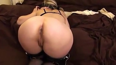 Fucking wife in ass and pussy doggystyle