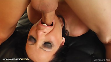 Mandy Bright presented by Milf Thing hardcore gonzo scene