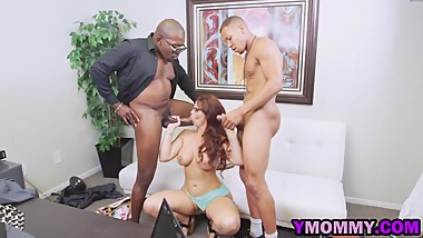 Busty Mommy Craves Black Dicks