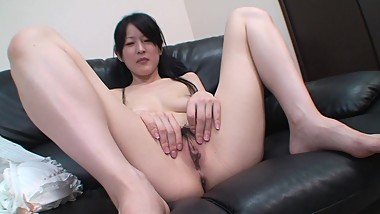 Cute Japanese MILF shows hot body then fucked until creampie