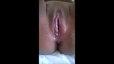 Latin Slut dripping cum after hard fuck