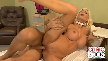 Patient Fucks And Cums On Nurse Puma Swede