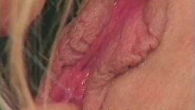 Blonde busty MILF Houston loves hot younger pussy