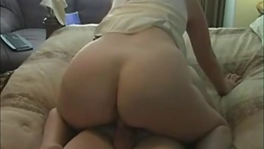 Amateur Mom Rides Hard Cock